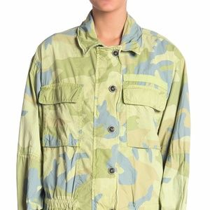 Free People Lead the Way Camo Jacket